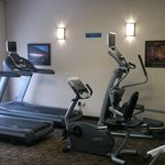 Our gym has a new eliptical and two more treadmills!