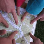 We offer orienteering challenges for team and group development.