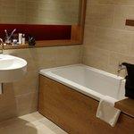 Bathroom with double ended bath