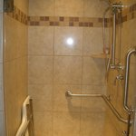 Full shower.