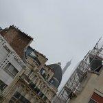 la torre, peccato per i lavori di ristrutturazione accanto..