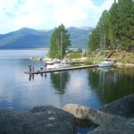 Lake Cascade is less than a mile away, beaches & fishing