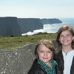 Sarah and Sean on the Cliffs of Moher
