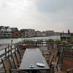 Terrasse an der Amstel