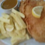 Fish and Chips .