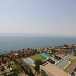Beautiful view of the Dead Sea from our room