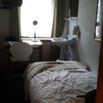A budget single room