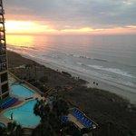 Beginning of the sunrise from my balcony