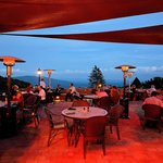 Outdoor Mountain View Dining