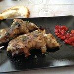 Manos de cerdo, segundo plato