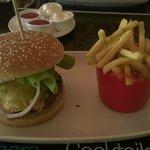 Blue Velvet Burger