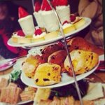 Delicious afternoon tea at The Parlour at Blagdon. Fantastic staff who couldn't do enough for us