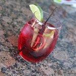 Dirk's Texas Vodka & Cranberry!  OMGosh!  So delicious!