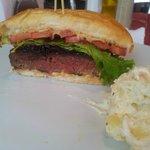 Super lanche ! Hambúrguer mais que delicioso!