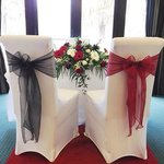 The Bride and the Grooms chair