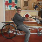 trying out the recumbant