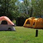 Camping at the Teton Valley RV Park