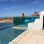 Cool pool photo opp