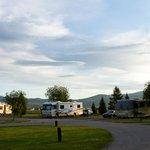 RV spots at the park
