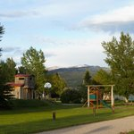 Playground at the Teton Valley RV Park