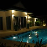 our villa by night