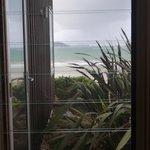 View from bath at Beachhouse Apartment