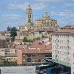 Vista de la ciudad desde nuestra habitación