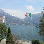 Vista da varanda do quarto - Lago di Como