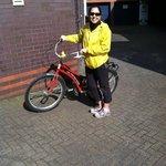 Loved my bike's name (Julie Andrews)