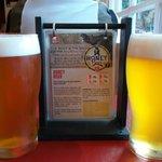 Honey Beer con la descripción de la cerveza