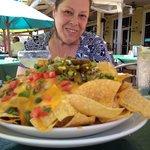 Look at those nachos