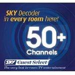 SKY TV 50+ Channels