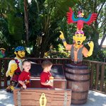 My pirates with the lego pirates