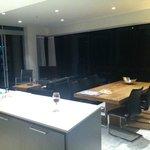 Kitchen lounge area