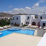 apartamentos e piscina