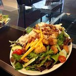 Loaded Salad, The Salad Bar is Awesome!