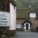 Near The End of Its Extended Driveway You'll Find Castle's Inner Public Entrance