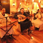 Live music while you eat in the gorgeous Moroccan restaurant