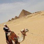 Camel Ride through the Pyramids