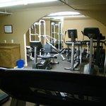 Workout Equipment.