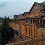 Hotel Sacacomie balcony