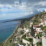 Vista do mar Egeu