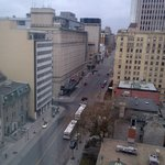 View out the west window, onto Sherbrooke.
