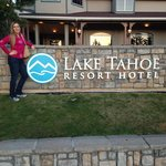Lake Tahoe Resort Hotel Entrance Sign