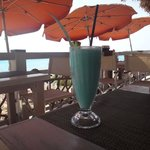 Try the Curacao Colada - Delicious!