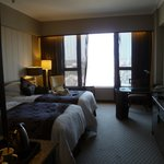Our room on the 13th floor