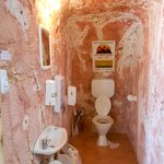 the underground toilet at the Old Timers Mine
