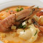 Chupe de Camarones Soup
