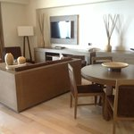 Master suite dining/living area.