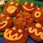 happy Fried Green Tomatoes.  oh no Mr Bill